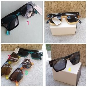 Classic Women Sunglasses Oprah Style Thick Square